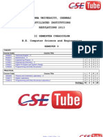 2nd Sem CSE R2013 Syllabus  - Cse Tube