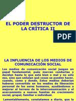 EL PODER DESTRUCTOR DE LA CRÍTICA III-2.ppt
