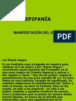 EPIFANÍA MANIFESTACIÓN DEL SEÑOR.ppt