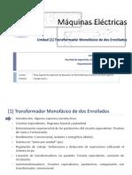 [1] Máquinas Eléctricas - Transformador monofásico de dos enrollados(Autosaved)