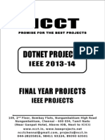 2013-14 Ieee Dotnet Ieee Project Titles Yr 2013-2014, Ncct .Net Ieee Project List