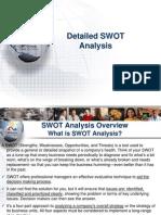 Detailed Swot Analysis