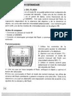 Maxxum Flash 5400HS Manual - Part 2 (in Spanish)