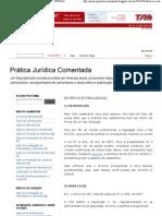 Prática Jurídica Comentada- DIVÓRCIO EXTRAJUDICIAL