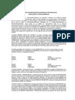 15. Copia Del Contrato Para Camionetas 4x4 y de Estaca (Para San Gil - Santander)