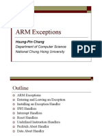 Chapter 7 ARM Exceptions