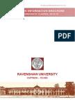 UG Admission Information Brochure 2013- R.U.