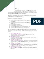 Cara Membuat Weblog
