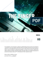 NI The Finger for Reaktor Manual (English)