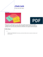 How to Write Flash Cards.docx