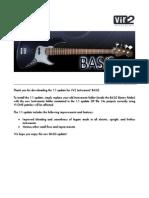NI Kontakt Vir2 BASiS 1.1 Update Notes
