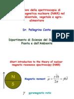 Applicazioni della spettroscopia di risonanza magnetica nucleare (NMR) nel settore ambientale, vegetale e agro-alimentare