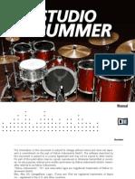 NI Kontakt Studio Drummer Manual English