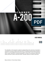 NI Kontakt Scarbee A-200 Manual English