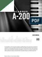 NI Kontakt Scarbee A-200 Manual English