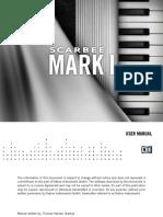 NI Kontakt Scarbee Mark I Manual English