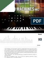NI Kontakt Retro Machines MK2 Manual English
