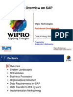 An Overview on SAP