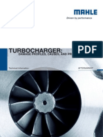 Damage Brochure MAHLE Original Turbochargers
