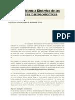 Inconsistencia Dinámica de las políticas macroeconómicas
