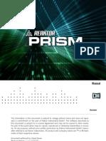 NI Reaktor Prism Manual English