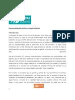 Paper ECOSOC - Democratización de los Recursos Hídricos (1)