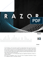 NI Reaktor Razor Manual English