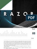 NI Reaktor Razor Manual English