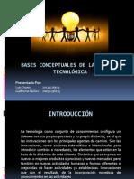 expo Bases conceptuales de la gestión tecnológica
