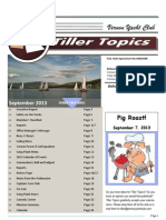 September VYC Tiller Topics