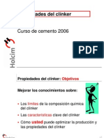 04 Propiedades Del Clinker (Fenomenos de Coccion)