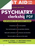 First Aid Psych