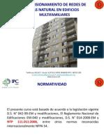 Dimensionamiento de Redes de Gas Natural en Edificios Multifamiliares