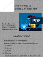 Filosofía; Modernismo, Posmodernismo y 'New Age'