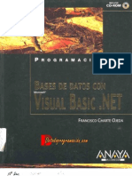 Bases de Datos Con Visual Basic .NET - Francisco Charte Ojeda