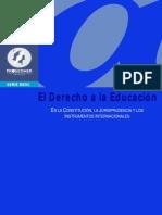 Derecho a La Educacion ProSeDHer