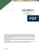 Manual Instrucciones Mantenimiento Excavadora s220lc v Daewoo