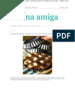 Tartaletas de Manzana Sin Le