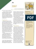 Best Managemetn Practices for Reducing Ammonia Emissions