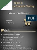 HPHE 6720 - Topic 8