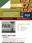Church Bulletin For August 30 & Sept 1, 2013