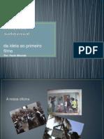Oficina para realização audiovisual