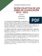 Vii Convencion Colectiva Actual 2013-2015 v3