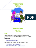 Predictions with will / won't