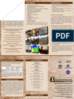 Triptico Geociencias