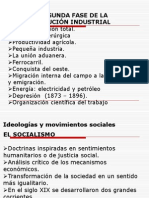 Segunda Fase de La Revolucion Industrial Nacionalismo - Imperialismo - Crisis