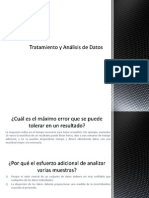 Tratamiento y Análisis de Datos