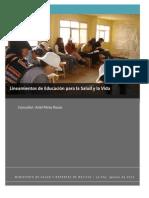 Educacion para la vida (Ariel Pérez final)