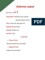 Informe salud pública 1