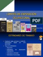 8.0 Limites de Exposicion Ocupacional